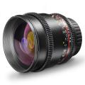 walimex pro 85/1,5 VDSLR Objektiv f. Pentax K Nr. 20125