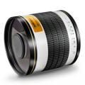 walimex pro 500/6,3 DSLR Spiegel Olympus OM weiß Nr. 15543