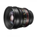 walimex pro 50/1,5 VDSLR Canon EOS schwarz Nr. 20402