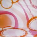 walimex pro Motiv-Stoffhintergrund Oranje, 3x6m Nr. 16824