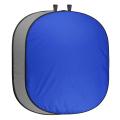 walimex pro 2in1 Falthintergrund grau/blau 200x230 Nr. 20754