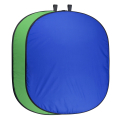 walimex pro Falthintergrund grün/blau, 150x210cm Nr. 20731