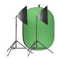 walimex pro Video Greenscreen Set Einsteiger flexi Nr. 21429