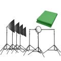 walimex pro Video Greenscreen Set Profi Nr. 21433