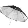 walimex pro Reflex Umbrella black/silver 109cm No. 17675