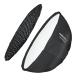 Walimex pro Studio Line Beauty Dish Softbox QA85 mit Softboxadapter Elinchrom Nr. 22622