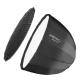 Walimex pro Studio Line Deep Rota SB QA120 mit Softboxadapter Bowens Nr. 22597