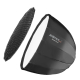 Walimex pro Studio Line Deep Rota SB QA120 mit Softboxadapter Profoto Nr. 22593