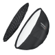 Walimex pro Studio Line Beauty Dish Softbox QA65 mit Softboxadapter Hensel Nr. 22609